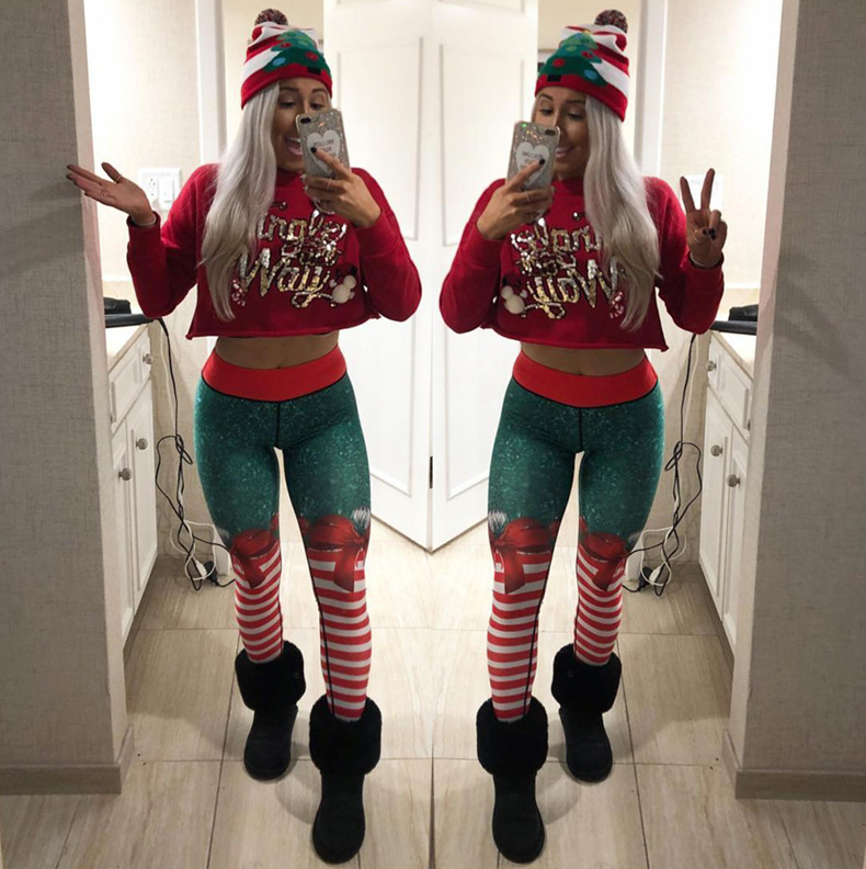 Christmas Leggings, Xmas Leggings