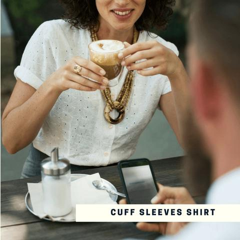 Cuff Sleeves Shirt