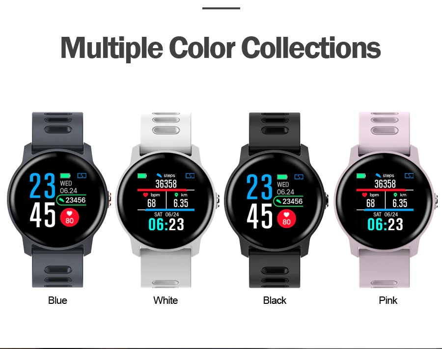 smart watches colors