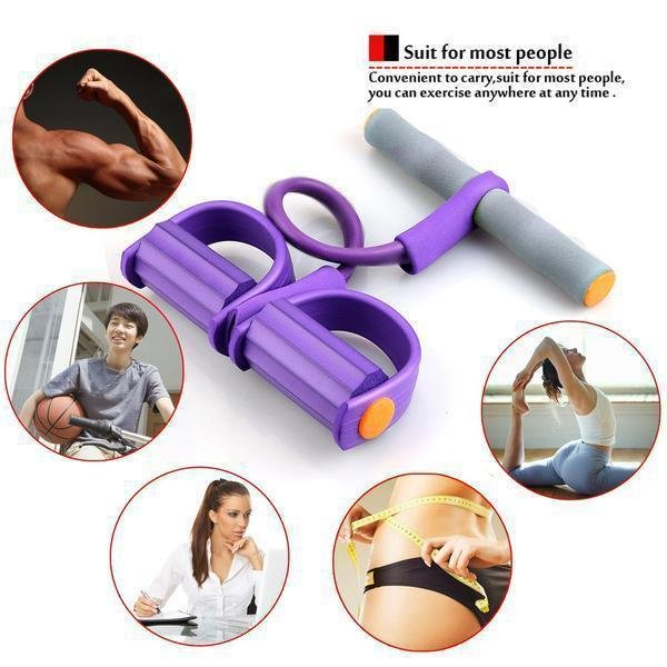 Fitness exercise latex Resistance Bands trainer