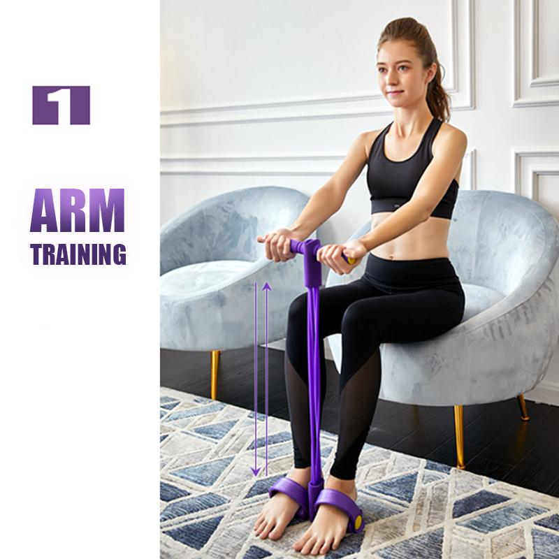 Pedal Exerciser Multi Function Tension Rope-arm training