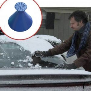 Windshield ICE Scraper - Magic Cone